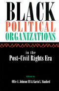 Black Political Organizations in the Post-Civil Rights Era Cover