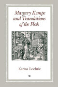 Margery Kempe and Translations of the Flesh Cover