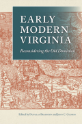 Early Modern Virginia Cover