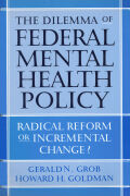 The Dilemma of Federal Mental Health Policy Cover
