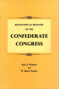 Biographical Register of the Confederate Congress Cover