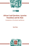 African Land Questions, Agrarian Transitions and the State Cover