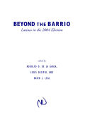 Beyond the Barrio Cover