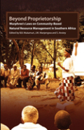 Beyond Proprietorship. Murphreeís Laws on Community-Based Natural Resource Management in Southern Africa Cover