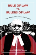 Rule of Law vs. Rulers of Law. Justice Barnabas Albert Samatta's Road To Justice Cover
