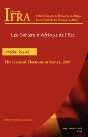 The General Elections in Kenya, 2007