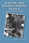 Solving the Reemployment Puzzle Cover