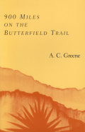900 Miles on the Butterfield Trail Cover