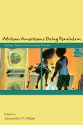African Americans Doing Feminism Cover