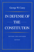 In Defense of the Constitution Cover