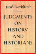 Judgments on History and Historians Cover