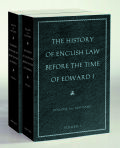 The History of English Law before the Time of Edward I Cover