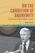 On the Condition of Anonymity Cover