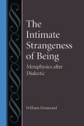 The Intimate Strangeness of Being Cover