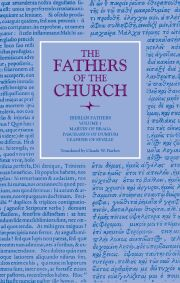 Iberian Fathers, Volume 1 (The Fathers of the Church, Volume 62)