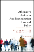 Affirmative Action in Antidiscrimination Law and Policy Cover