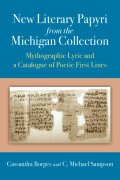 New Literary Papyri from the Michigan Collection Cover