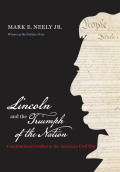 Lincoln and the Triumph of the Nation Cover