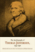 The Autobiography of Thomas Jefferson, 1743-1790 Cover