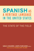 Spanish as a Heritage Language in the United States Cover