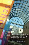 Fordham University School of Law:A History Cover