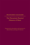 The Theoretical-Practical Elements of Music, Parts III and IV Cover