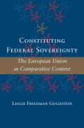 Constituting Federal Sovereignty