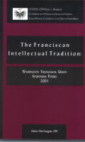 The Franciscan Intellectual Tradition Cover