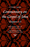 Commentary on the Gospel of John Cover