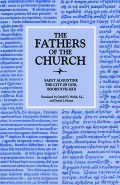 The City of God, Books XVII–XXII (The Fathers of the Church, Volume 24) Cover