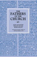 The City of God, Books VIII–XVI (The Fathers of the Church, Volume 14) Cover