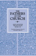 The City of God, Books I–VII (The Fathers of the Church, Volume 8) Cover