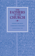 Commentary on Zechariah (The Fathers of the Church, Volume 111) Cover