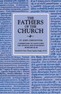 Commentary on Saint John the Apostle and Evangelist, Homilies 48–88 (The Fathers of the Church, Volume 41) Cover