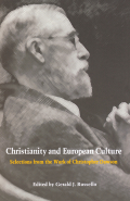 Christianity and European Culture (Selections from the Work of Christopher Dawson)