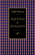 Aquinas and Analogy Cover