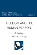 Freedom and the Human Person Cover