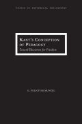 Kant's Conception of Pedagogy Cover