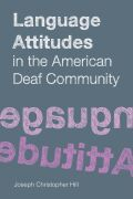 Language Attitudes in the American Deaf Community Cover