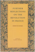 Further Reflections on the Revolution in France Cover