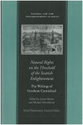Natural Rights on the Threshold of the Scottish Enlightenment cover