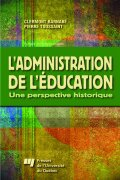 L'administration de l'éducation Cover