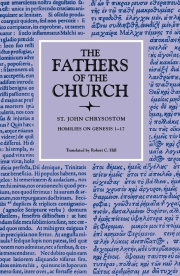 Homilies on Genesis, 1–17 (The Fathers of the Church, Volume 74)