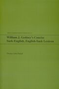 William J. Gedney's Concise Saek-English, English-Saek Lexicon