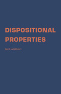 Dispositional Properties Cover