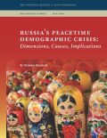 Russia's Peacetime Demographic Crisis Cover