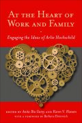 At the Heart of Work and Family Cover