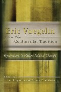 Eric Voegelin and the Continental Tradition cover