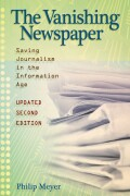 The Vanishing Newspaper [2nd Ed] cover