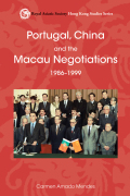 Portugal, China and the Macau Negotiations, 1986–1999 Cover